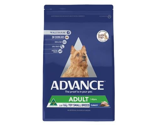 ADVANCE ADULT DOG TOY SMALL BREED TURKEY 3KGADVANCE is scientifically formulated to help improve dog...