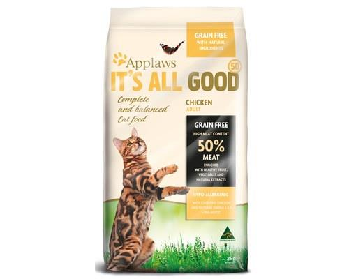 Applaws It's All Good 50, Chicken Dry Cat Food, 3kgThis complete and nutritionally balanced cat food...