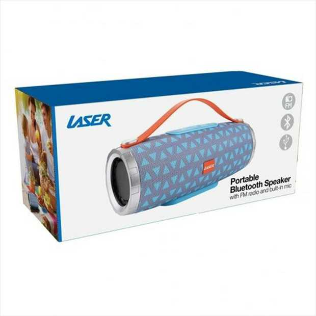 Want a compact and lightweight wireless speaker? Check out the Laser Bluetooth Tube speaker that offers...