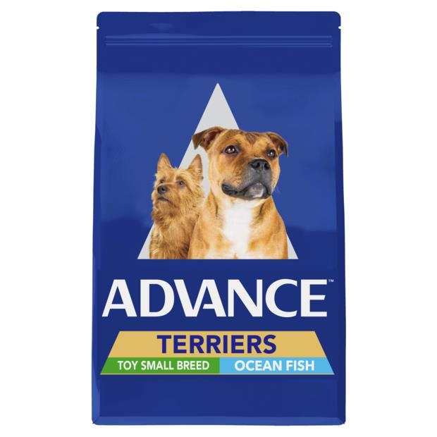 Advance Adult Terriers Toy Small Breed Dry Food Ocean Fish 13kg Pet: Dog Category: Dog Supplies  Size:...