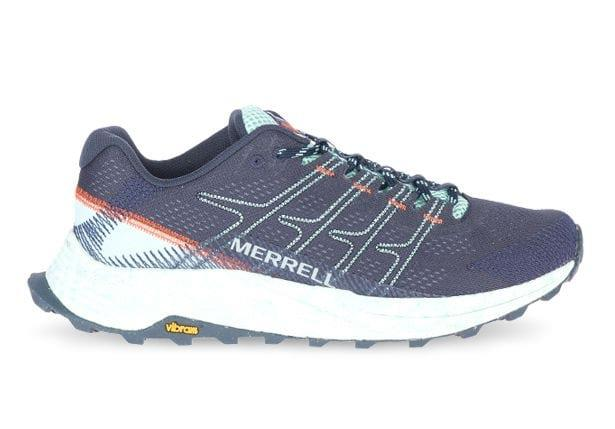 The Merrell Moab Flight is designed for outdoor lovers seeking a lightweight, durable trail runner with...