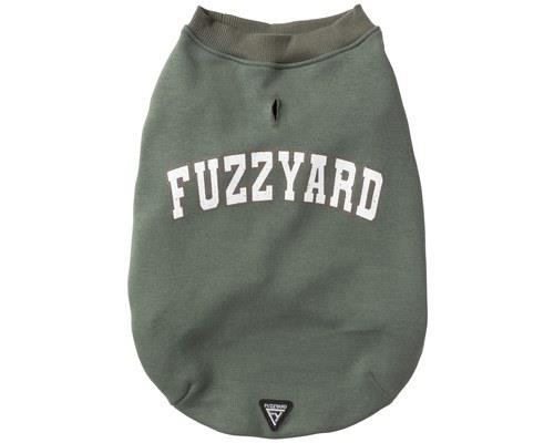 FUZZYARD COLLEGE SWEATER MYRTLE GREEN SIZE 5Deep down, every dog thinks they're to cool for school, but...