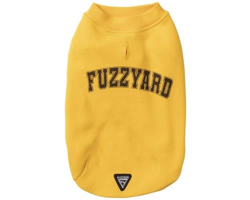 FUZZYARD COLLEGE SWEATER YELLOW SIZE 5Your dog may be flunking classes such as Maths, English and 'Hey...
