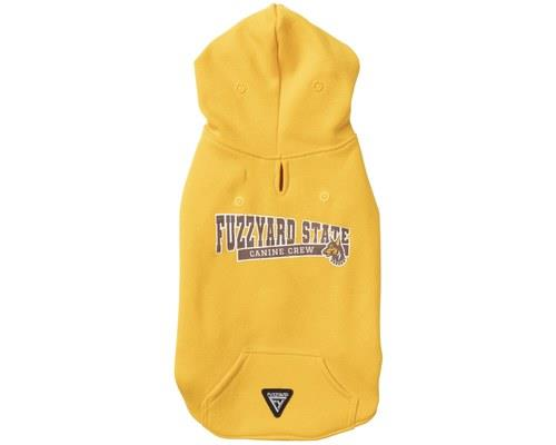 FUZZYARD STATE HOODIE YELLOW SIZE 4Perfect for brightening up your dog's winter walks (or for...