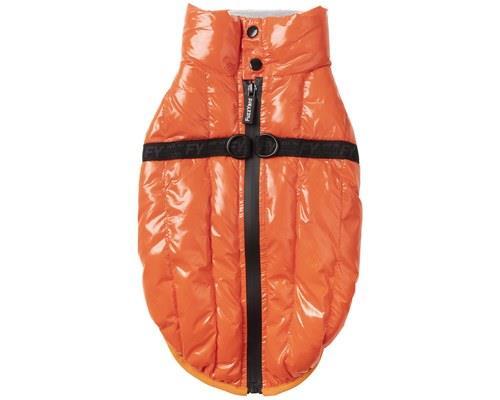 FUZZYARD CALABASAS TANGERINE SIZE 3Boldly coloured and super soft, the Tangerine Calabasas Dog Jacket...