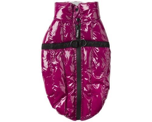FUZZYARD CALABASAS EGGPLANT SIZE 3Don't worry, the Eggplant Calabasas Dog Jacket isn't really made from...