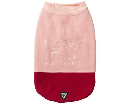 FUZZYARD TRACK SWEATER PINK/RED SIZE 7Pretty in pink and ready to go go go! The Fuzzyard Track Sweater...