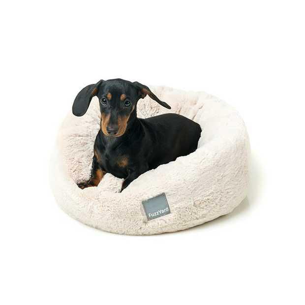 Fuzzyard Eskimo Bed Cream Medium Pet: Dog Category: Dog Supplies  Size: 1.1kg Colour: White  Rich...