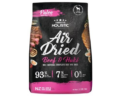 ABSOLUTE HOLISTIC AIR DRIED DOG FOOD BEEF HOKI 1KGYou put your whole face in, you put your whole face...