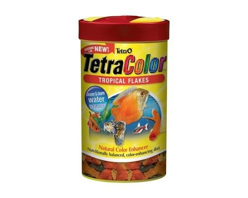 This natural color-enhancing food is a wonderful supplement to the diet of any tropical fish.TetraColor...