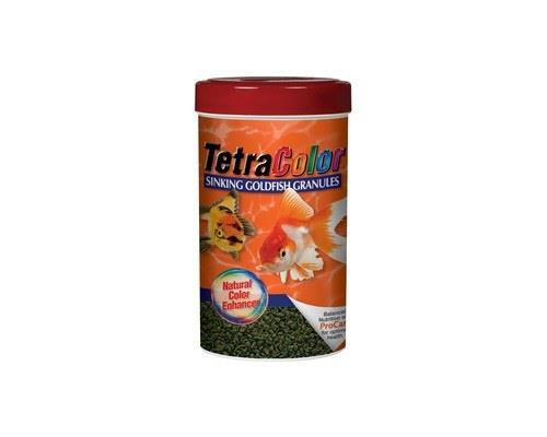 Bring out the striking, beautiful colors of your goldfish with TetraColor™ Sinking Granules. This...