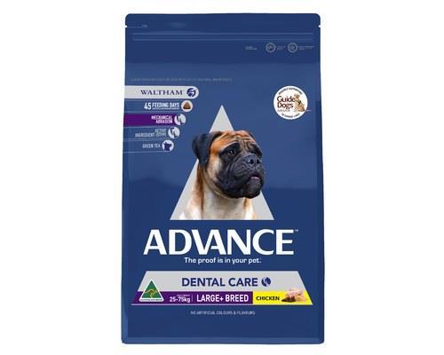 ADVANCE ADULT DOG LARGE+ BREED DENTAL 13KGADVANCE™ dental Large+ Breed Dry Dog Food is a...