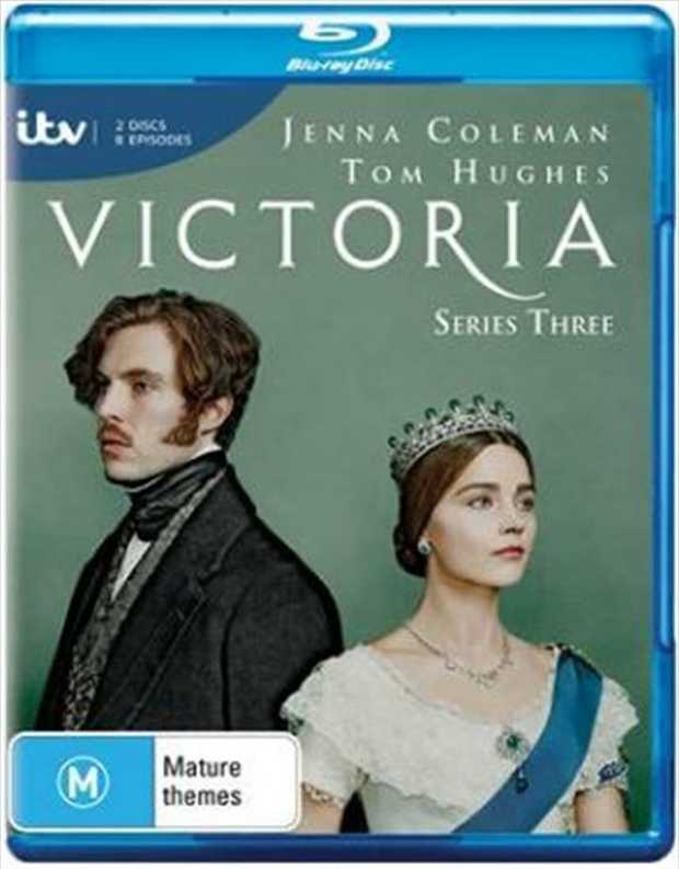 Victoria - Series 3 Blu-Ray       Rule or be ruled  When revolution...