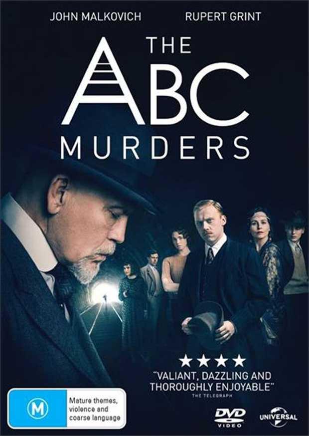 Agatha Christie - ABC Murders DVD      In 1933, retired detective...