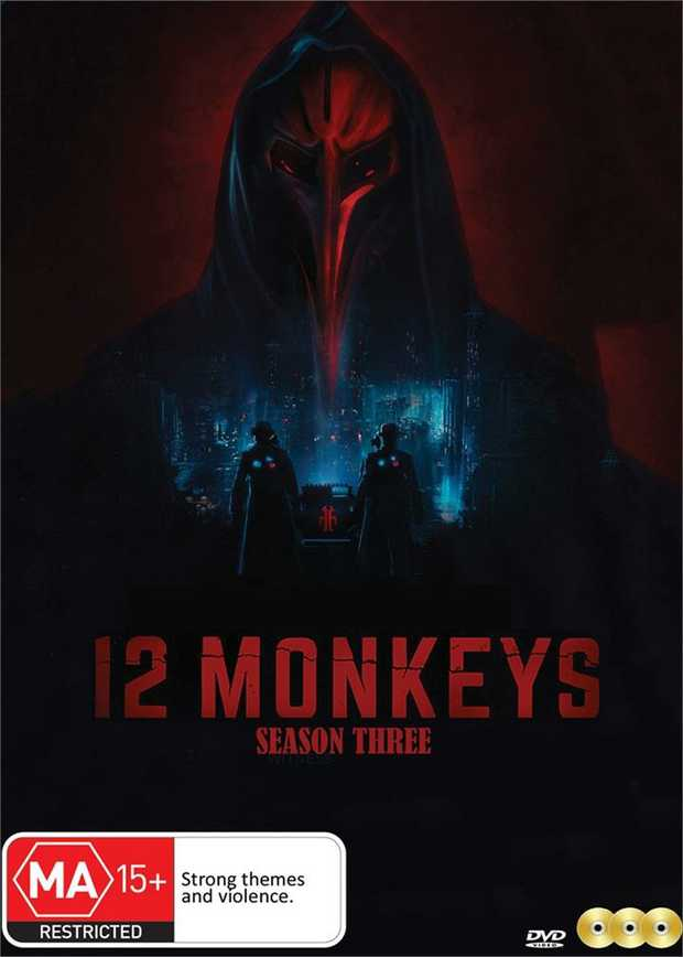 12 Monkeys - Season 3 DVDChange the past, save the future.Follows the journey of a time traveler from...