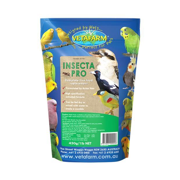 Vetafarm Bird Insecta Pro 10kg Pet: Bird Category: Bird Supplies  Size: 10.1kg  Rich Description:...