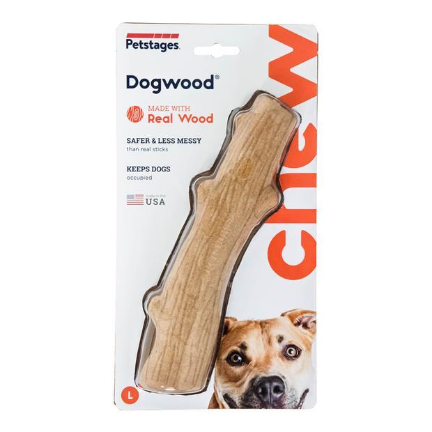 Petstages Dogwood Durable Stick Each Pet: Dog Category: Dog Supplies  Size: 0.2kg Colour: Brown  Rich...