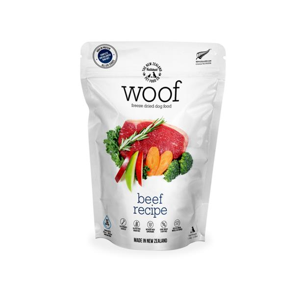 Nz Natural Woof Beef Freeze Dried Dog Food 1.2kg Pet: Dog Category: Dog Supplies  Size: 1.2kg  Rich...