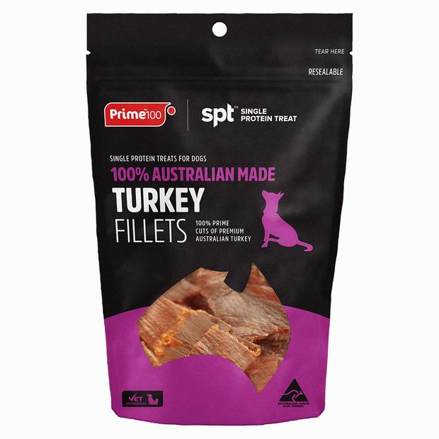 Prime100 Turkey Fillet Treat 100g Pet: Dog Category: Dog Supplies  Size: 0.1kg  Rich Description: Made...