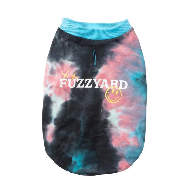 Fuzzyard Smiley Tierus Sweater Blue Size 7 Pet: Dog Category: Dog Supplies  Size: 10.2kg Colour: Blue...