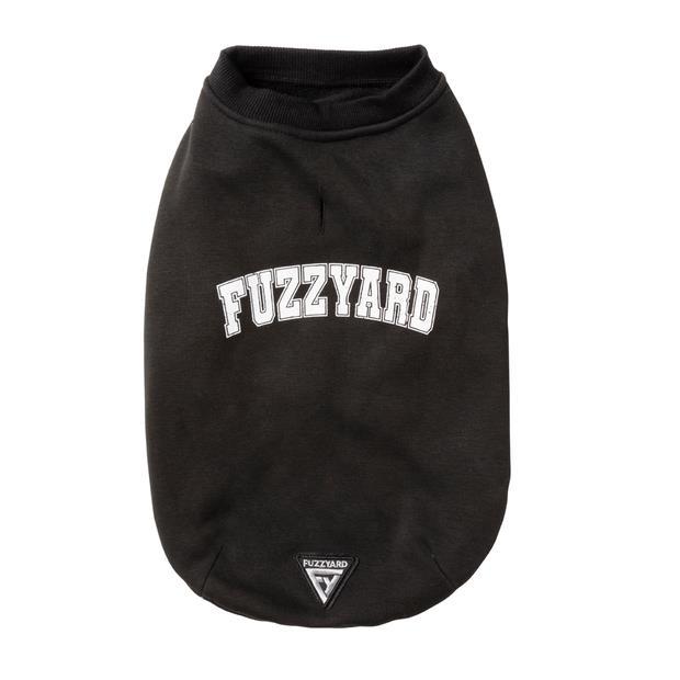 Fuzzyard College Sweater Black Size 1 Pet: Dog Category: Dog Supplies  Size: 0.9kg Colour: Black  Rich...