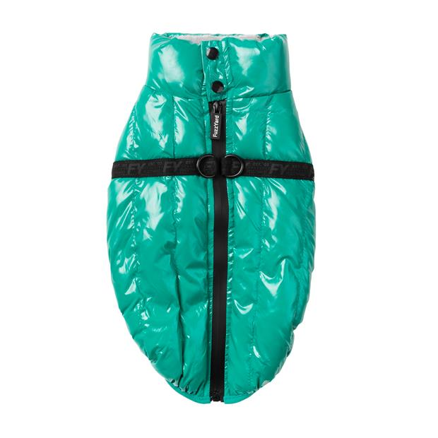 Fuzzyard Calabasas Jacket Sea Green Size 1 Pet: Dog Category: Dog Supplies  Size: 0.9kg Colour: Green...