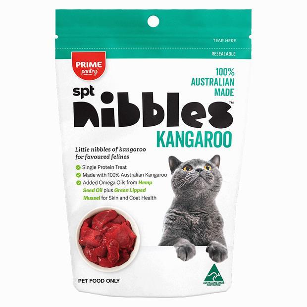 Prime Pantry Nibbles Kangaroo 2 X 40g Pet: Cat Category: Cat Supplies  Size: 0.1kg  Rich Description:...