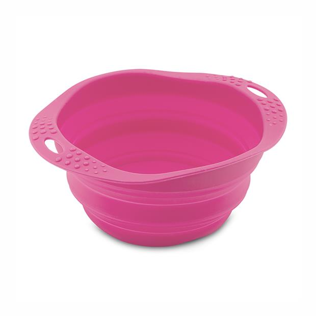 Beco Travel Bowl Pink Large Pet: Dog Category: Dog Supplies  Size: 0.3kg Colour: Pink  Rich...