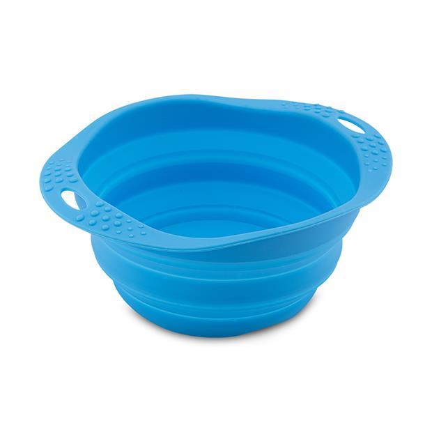 Beco Travel Bowl Blue Medium Pet: Dog Category: Dog Supplies  Size: 0.1kg Colour: Blue  Rich...