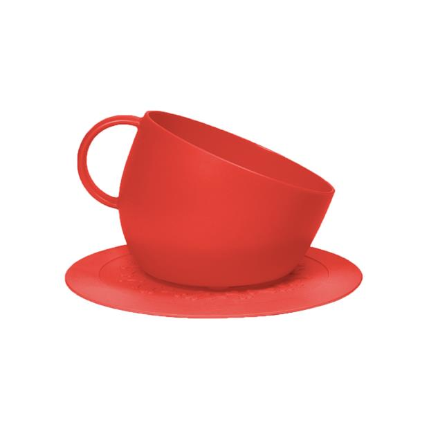 United Pets Dog Bowl Cup Set Red 2500ml Pet: Dog Category: Dog Supplies  Size: 0.3kg Colour: Red  Rich...