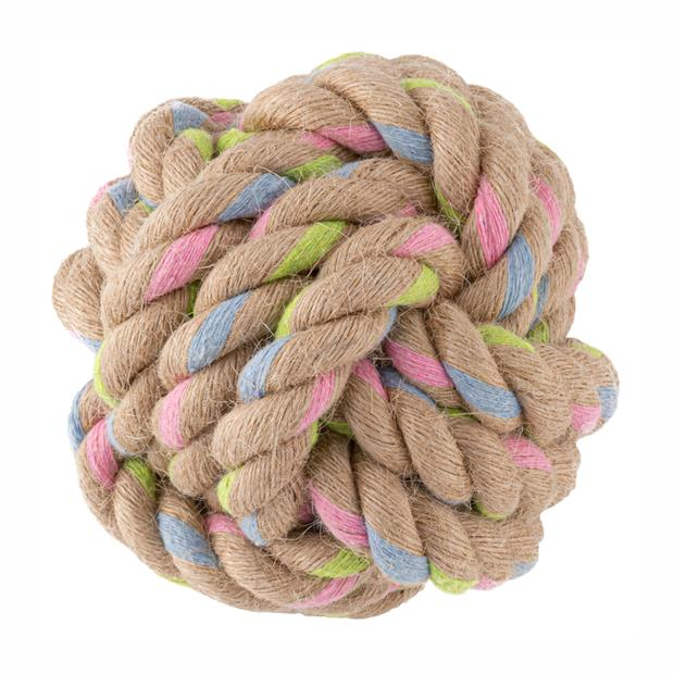 Beco Hemp Rope Ball Small Pet: Dog Category: Dog Supplies  Size: 0.1kg  Rich Description: Beco pet...