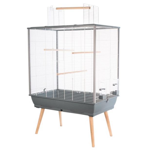 Zolux Neo Jili Bird Cage Grey Xlarge Pet: Bird Category: Bird Supplies  Size: 10kg  Rich Description:...