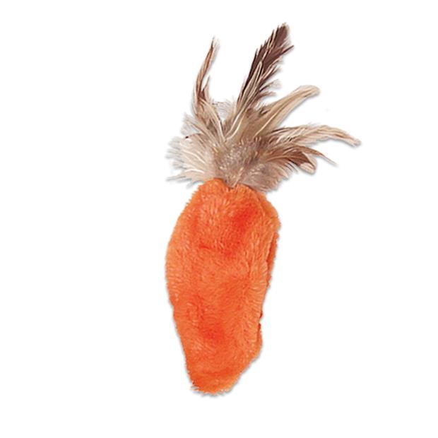 Kong Cat Dr Noys Carrot Each Pet: Cat Category: Cat Supplies  Size: 0.5kg Colour: Orange  Rich...