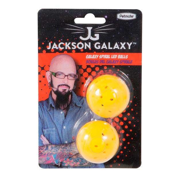 Jackson Galaxy Led Ball 2 Pack Pet: Cat Category: Cat Supplies  Size: 0.1kg  Rich Description: These...