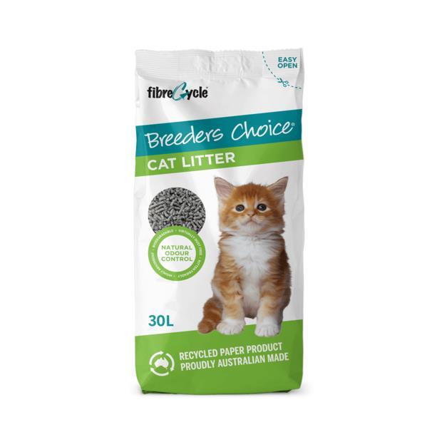Breeders Choice 30L Pet: Cat Category: Cat Supplies  Size: 11.5kg Material: Paper  Rich Description:...