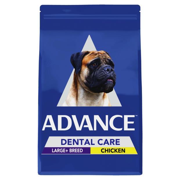 Advance Adult Dental Large Breed Dry Dog Food Chicken 13kg Pet: Dog Category: Dog Supplies  Size: 13kg...