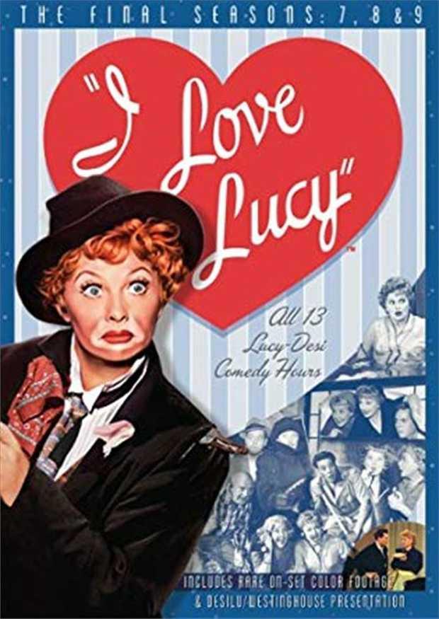 I Love Lucy - Season 7-9 DVD