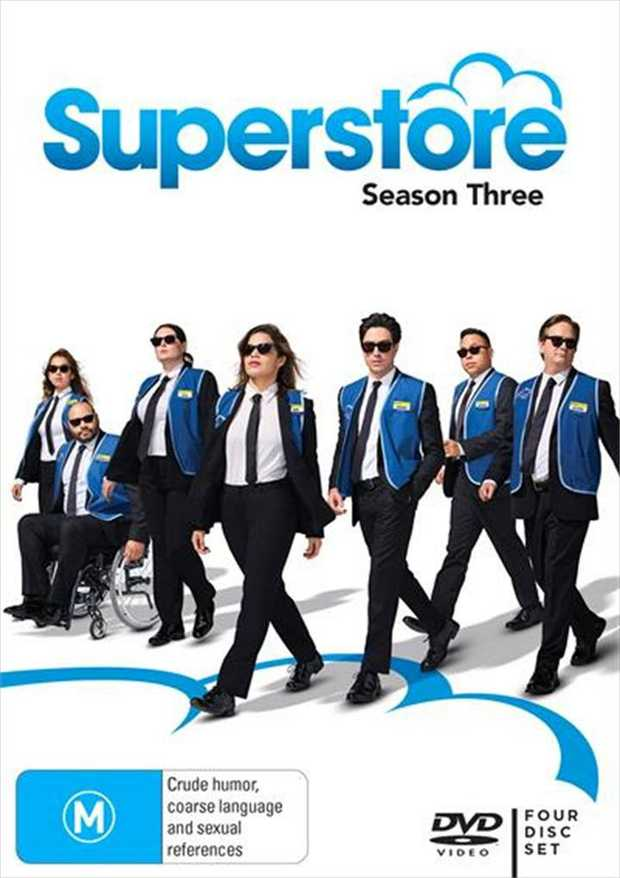 Superstore - Season 3 DVD      Taking care of business.Attention all...