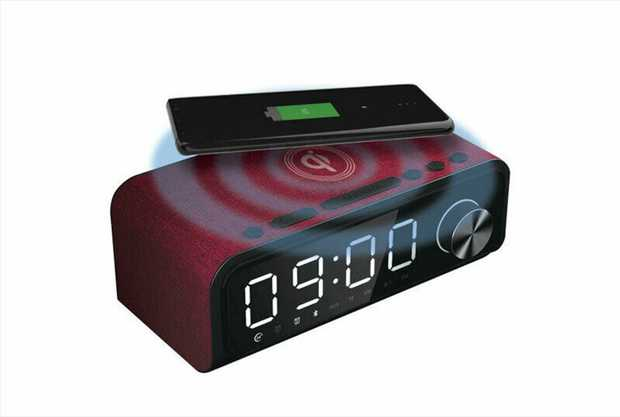 Say goodbye to messy cables and charge your smartphone with this stylish 4-in-1 Digital Alarm Clock...