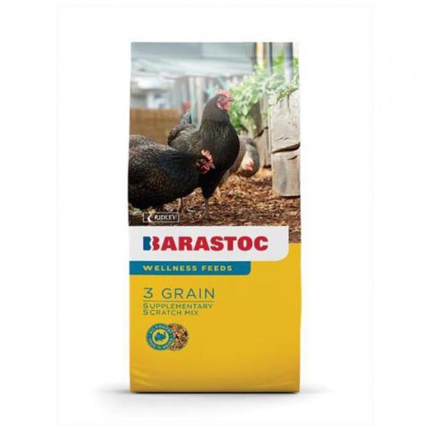 Barastoc 3 Grain Scratch Mix 20kg Pet: Bird Category: Bird Supplies  Size: 20kg  Rich Description:...