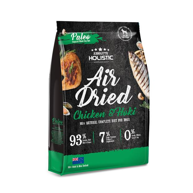 Absolute Holistic Air Dried Dog Food Chicken And Hoki 1kg Pet: Dog Category: Dog Supplies  Size: 1.1kg...