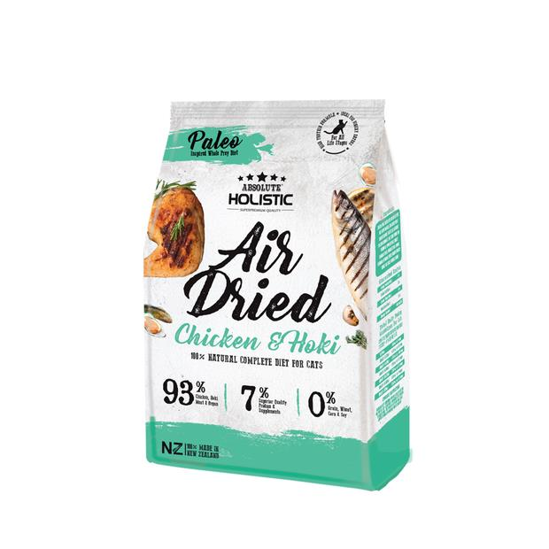 Absolute Holistic Air Dried Cat Food Chicken And Hoki 500g Pet: Cat Category: Cat Supplies  Size: 0.5kg...