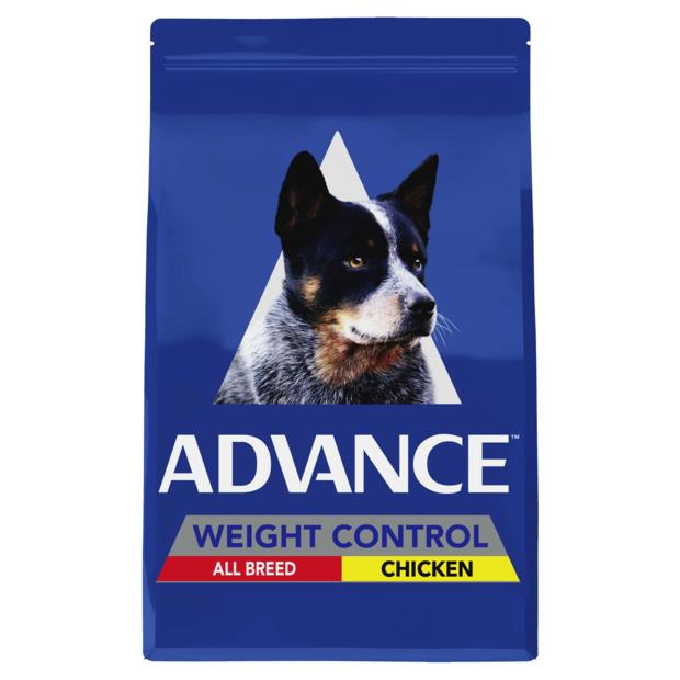 Advance Adult All Breed Weight Control Dry Dog Food Chicken 2.5kg Pet: Dog Category: Dog Supplies ...