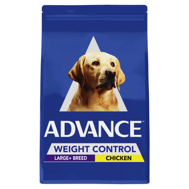 Advance Adult Large Breed Weight Control Dry Dog Food Chicken 17kg Pet: Dog Category: Dog Supplies ...
