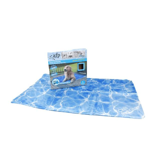 Afp Chill Out Always Cool Dog Mat Large Pet: Dog Category: Dog Supplies  Size: 3.3kg Colour: Blue  Rich...