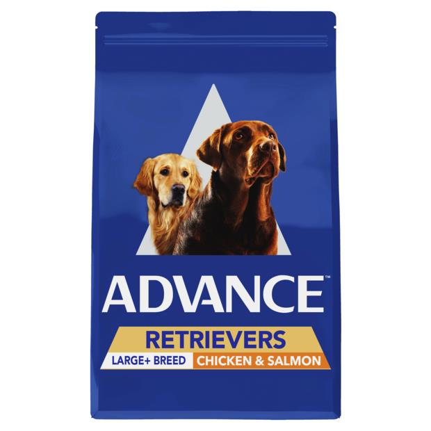 Advance Adult Retrievers Large Breed Dry Dog Food Chicken And Salmon 13kg Pet: Dog Category: Dog...