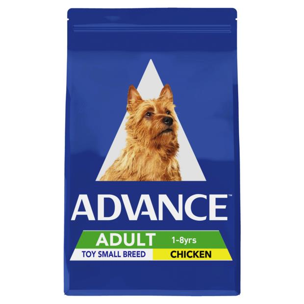 Advance Adult Toy Small Breed Chicken 2 X 8kg Pet: Dog Category: Dog Supplies  Size: 16kg  Rich...