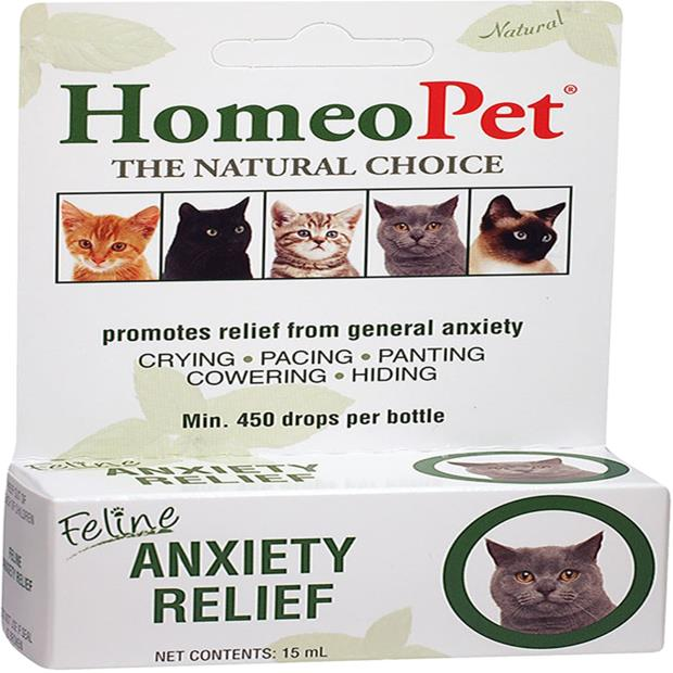Homeopet Feline Anxiety Relief 15ml Pet: Cat Category: Cat Supplies  Size: 0kg  Rich Description:...