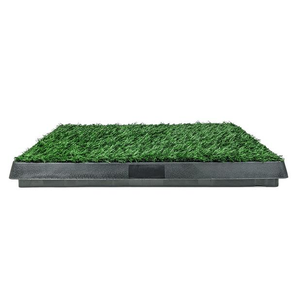 Poowee Grass Patch With Slide Out Tray Each Pet: Dog Category: Dog Supplies  Size: 2.6kg  Rich...