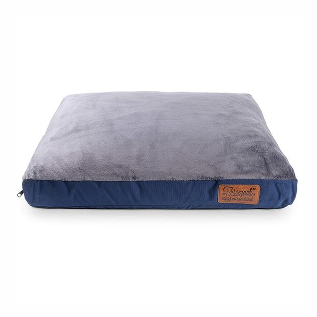 Freezack Bed Knight Mattress Blue Grey Xlarge Pet: Dog Category: Dog Supplies  Size: 4.5kg Colour: Blue...